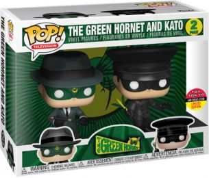 Figurine Funko Pop The Green Hornet #0 Le Frelon Vert & Kato - 2 pack
