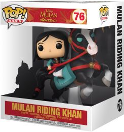 Figurine Funko Pop Mulan [Disney] #76 Mulan Chevauchant Khan - 15 cm