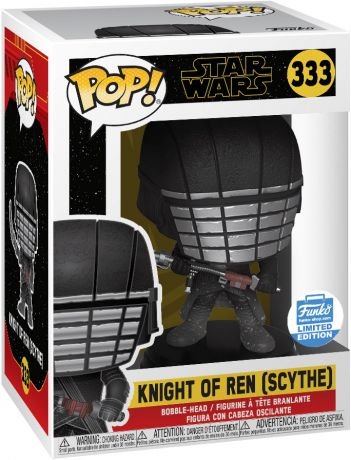 Figurine Funko Pop Star Wars 9 : l'Ascension de Skywalker #333 Kylo Ren (Scythe)