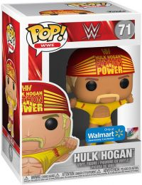 Figurine Funko Pop WWE #71 Hulk Hogan