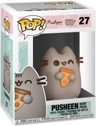 Figurine Funko Pop Pusheen #27 Pusheen avec Pizza