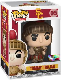 Figurine Funko Pop Mascottes Universitaires #5 Tommy Trojan