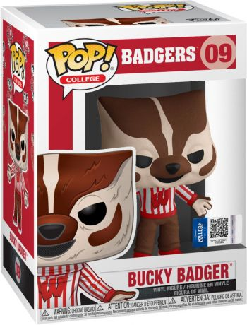 Figurine Funko Pop Mascottes Universitaires #09 Bucky Badger