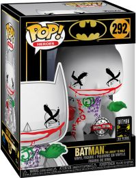 Figurine Funko Pop Batman [DC] #292 Batman (The Joker is Wild)