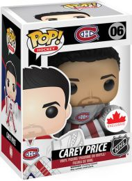 Figurine Funko Pop LNH: Ligue Nationale de Hockey #6 Carey Price