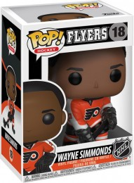 Figurine Funko Pop LNH: Ligue Nationale de Hockey #18 Wayne Simmonds