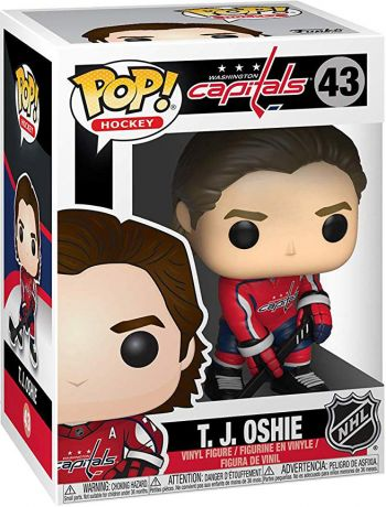 Figurine Funko Pop LNH: Ligue Nationale de Hockey #43 T. J. Oshie