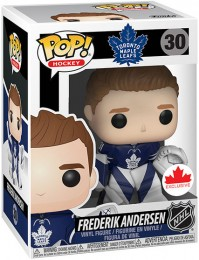 Figurine Funko Pop LNH: Ligue Nationale de Hockey #30 Frederik Andersen