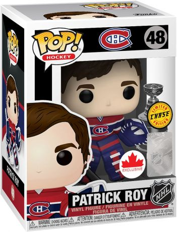 Figurine Funko Pop LNH: Ligue Nationale de Hockey #48 Patrick Roy [Chase]