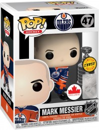 Figurine Funko Pop LNH: Ligue Nationale de Hockey #47 Mark Messier [Chase]