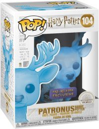 Figurine Funko Pop Harry Potter #104 Patronus d'Harry Potter - Translucide