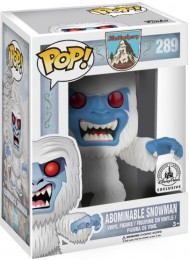 Figurine Funko Pop Parcs Disney  #289 Abominable Homme des Neiges