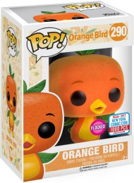 Figurine Funko Pop Parcs Disney  #290 Oiseau Orange - Floqué