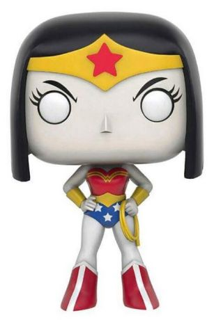 Figurine Funko Pop Teen Titans Go! #335 Raven en Wonder Woman