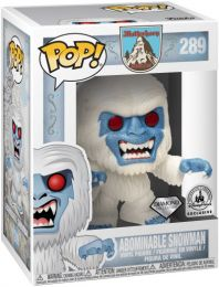 Figurine Funko Pop Parcs Disney  #289 Abominable Homme des Neiges - Pailleté