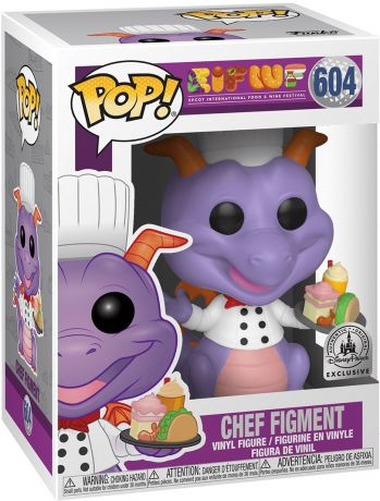 Figurine Funko Pop Parcs Disney  #604 Chef Figment