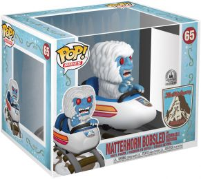 Figurine Funko Pop Parcs Disney  #65 Matterhorn Bobsled & Abominable Homme des Neiges