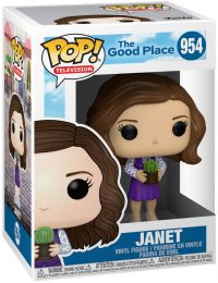 Figurine Funko Pop The Good Place #954 Janet