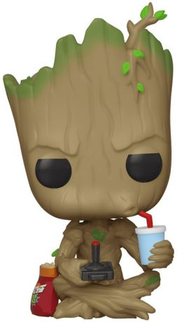 Figurine Funko Pop Marvel Comics #539 Groot (Gamer)