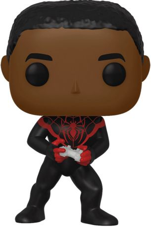 Figurine Funko Pop Marvel Comics #542 Miles Morales (Gamer) [Chase]