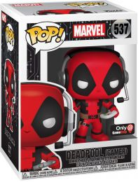 Figurine Funko Pop Marvel Comics #537 Deadpool (Gamer)