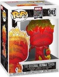 Figurine Funko Pop Marvel 80 ans #501 La Torche Humaine Originale