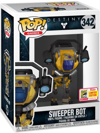 Figurine Funko Pop Destiny #342 Sweeper Bot