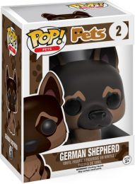 Figurine Funko Pop Animaux de Compagnie #2 Berger Allemand