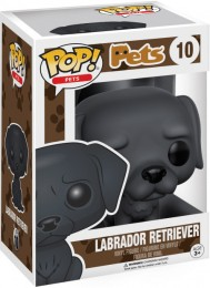 Figurine Funko Pop Animaux de Compagnie #10 Labrador Retriever