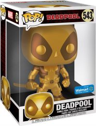 Figurine Funko Pop Deadpool [Marvel] #543 Deadpool - Métallique Or & 25 cm