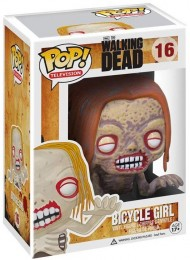 Figurine Pop The Walking Dead #16 Bicycle Girl Zombie pas chère