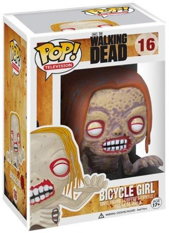 Figurine Funko Pop The Walking Dead #16 Bicycle Girl Zombie