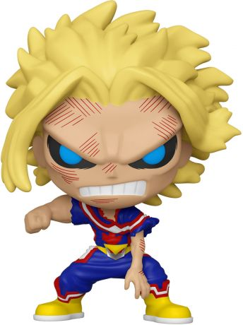 Figurine Funko Pop My Hero Academia #648 All Might (Affaibli) - Brillant dans le noir