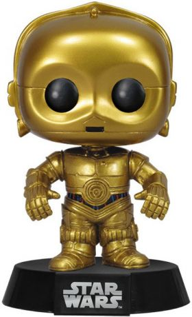 Figurine Funko Pop Star Wars 1 : La Menace fantôme #13 C-3PO