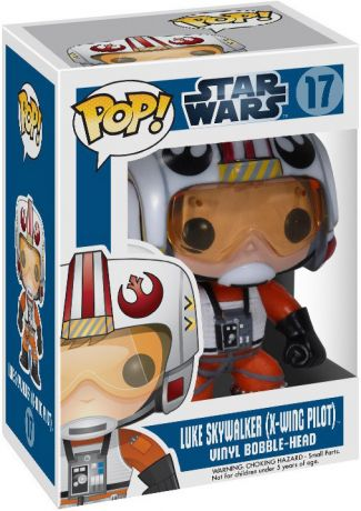 Figurine Funko Pop Star Wars 1 : La Menace fantôme #17 Luke Skywalker (Pilote X-Wing)