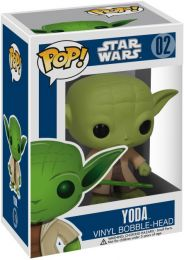 Figurine Funko Pop Star Wars 1 : La Menace fantôme #2 Yoda
