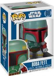 Figurine Funko Pop Star Wars 1 : La Menace fantôme #8 Boba Fett