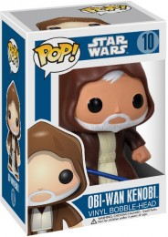 Figurine Funko Pop Star Wars 1 : La Menace fantôme #10 Obi-Wan Kenobi