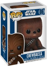 Figurine Funko Pop Star Wars 1 : La Menace fantôme #6 Chewbacca
