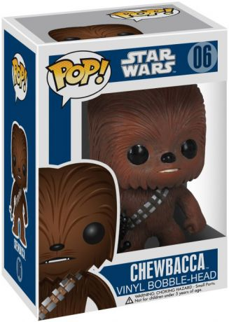 Figurine Funko Pop Star Wars 1 : La Menace fantôme #06 Chewbacca