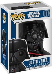 Figurine Funko Pop Star Wars 1 : La Menace fantôme #1 Dark Vador