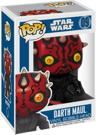 Figurine Funko Pop Star Wars 1 : La Menace fantôme #09 Dark Maul