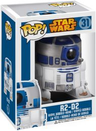 Figurine Funko Pop Star Wars 1 : La Menace fantôme #31 R2-D2