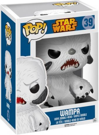 Figurine Funko Pop Star Wars 1 : La Menace fantôme #39 Wampa - 15 cm