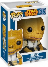 Figurine Funko Pop Star Wars 1 : La Menace fantôme #35 Bossk