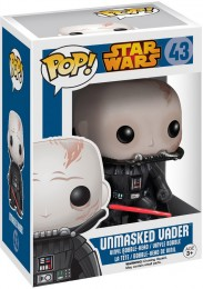 Figurine Funko Pop Star Wars 1 : La Menace fantôme #43 Dark Vador Sans Masque