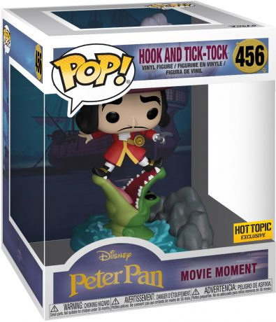 Figurine Funko Pop Peter Pan [Disney] #456 Capitaine Crochet et Tick Tock Croc