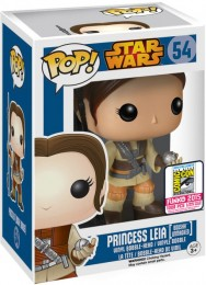 Figurine Funko Pop Star Wars 1 : La Menace fantôme #54 Princesse Leia (Boushh Sans Masque)