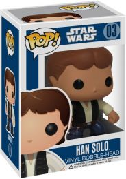 Figurine Funko Pop Star Wars 1 : La Menace fantôme #3 Han Solo
