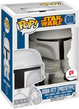 Figurine Funko Pop Star Wars 1 : La Menace fantôme #08 Boba Fett (Prototype)